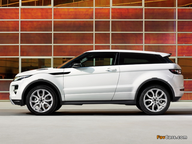 Images of Range Rover Evoque Coupe Dynamic 2011 (640 x 480)