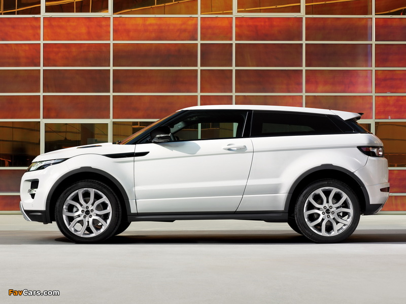 Images of Range Rover Evoque Coupe Dynamic 2011 (800 x 600)