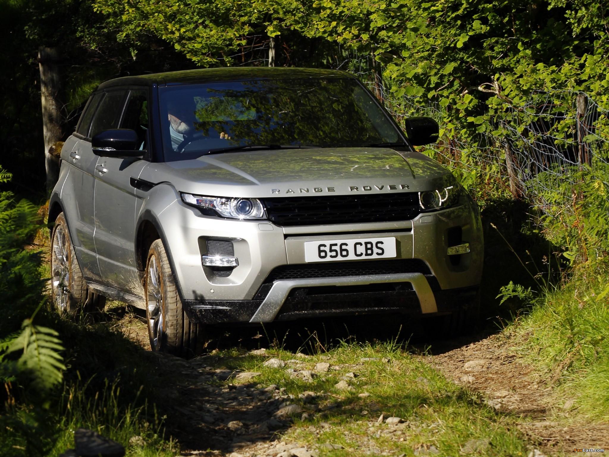Images of Range Rover Evoque SD4 Dynamic UK-spec 2011 (2048 x 1536)