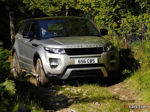 Images of Range Rover Evoque SD4 Dynamic UK-spec 2011 (640 x 480)
