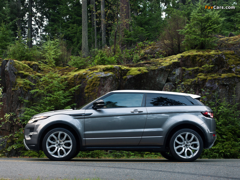 Images of Range Rover Evoque Coupe Dynamic US-spec 2011 (800 x 600)