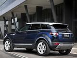 Images of Range Rover Evoque Prestige AU-spec 2011