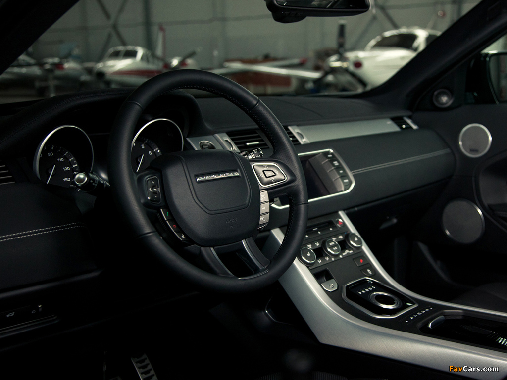 Images of Range Rover Evoque Coupe Dynamic US-spec 2011 (1024 x 768)