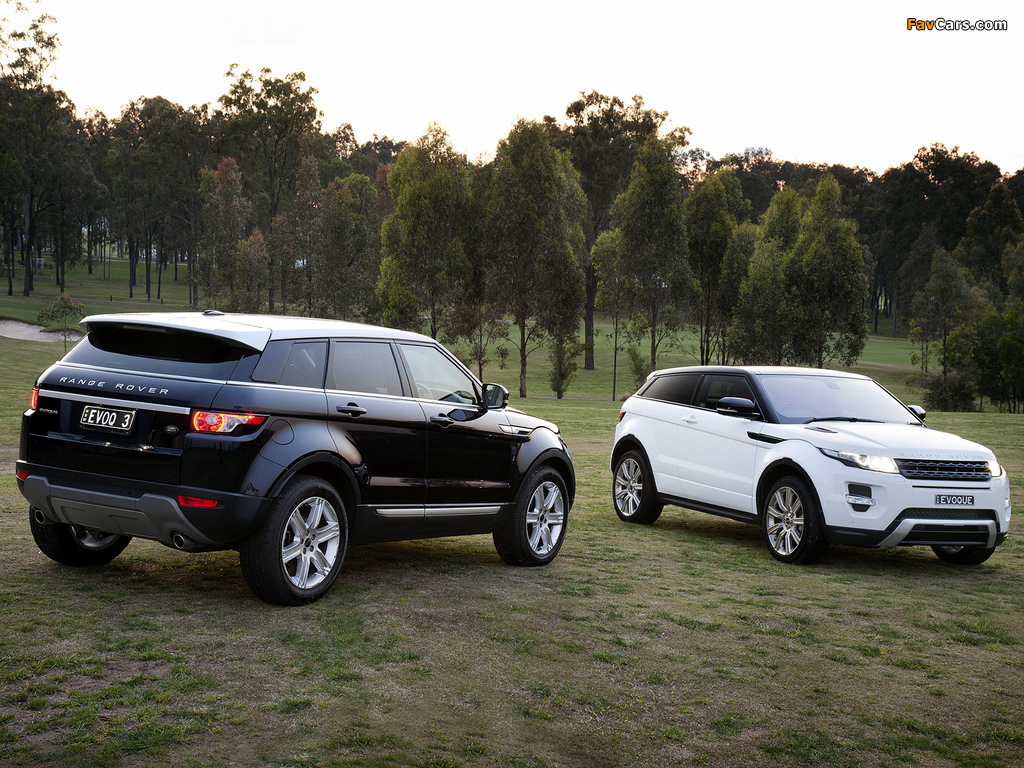 Images of Land Rover Range Rover Evoque (1024 x 768)