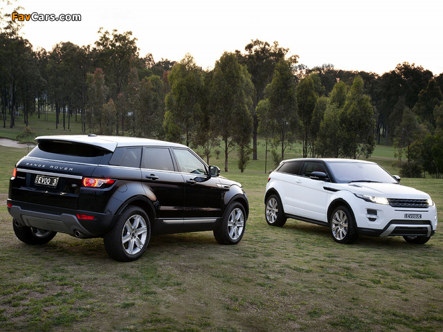 Images of Land Rover Range Rover Evoque (640 x 480)