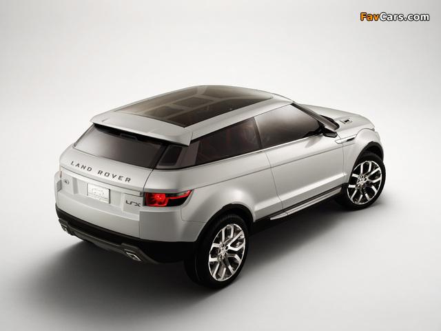 Land Rover LRX Concept 2007 images (640 x 480)