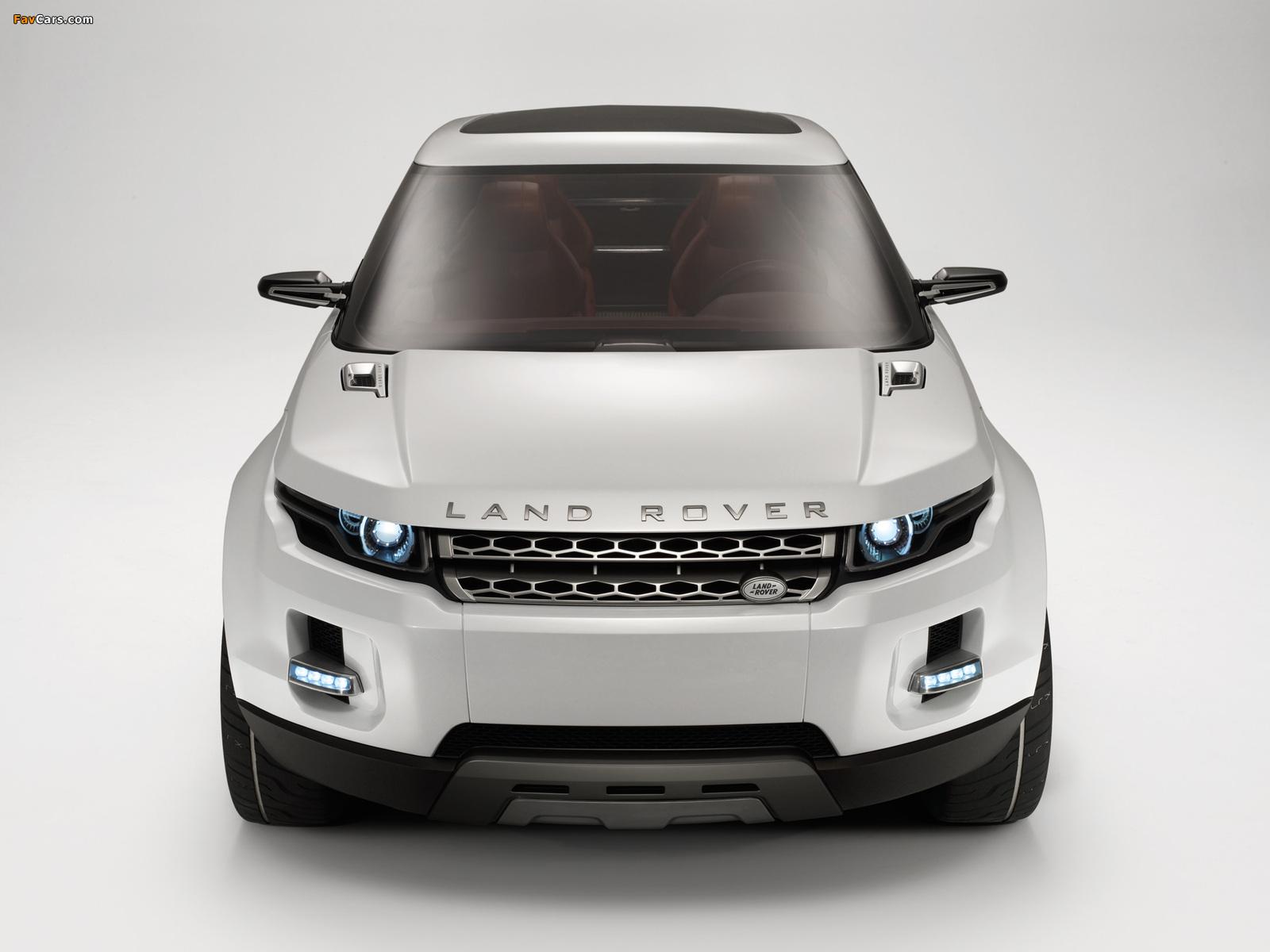 Land Rover LRX Concept 2007 pictures (1600 x 1200)
