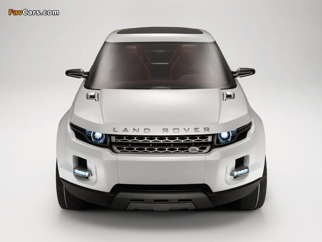 Land Rover LRX Concept 2007 pictures (640 x 480)