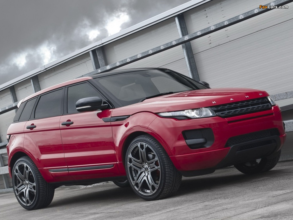 Project Kahn Range Rover Evoque 2011 images (1024 x 768)
