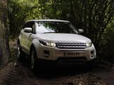 Range Rover Evoque SD4 Prestige 2011 images