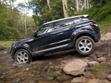Range Rover Evoque Prestige AU-spec 2011 images