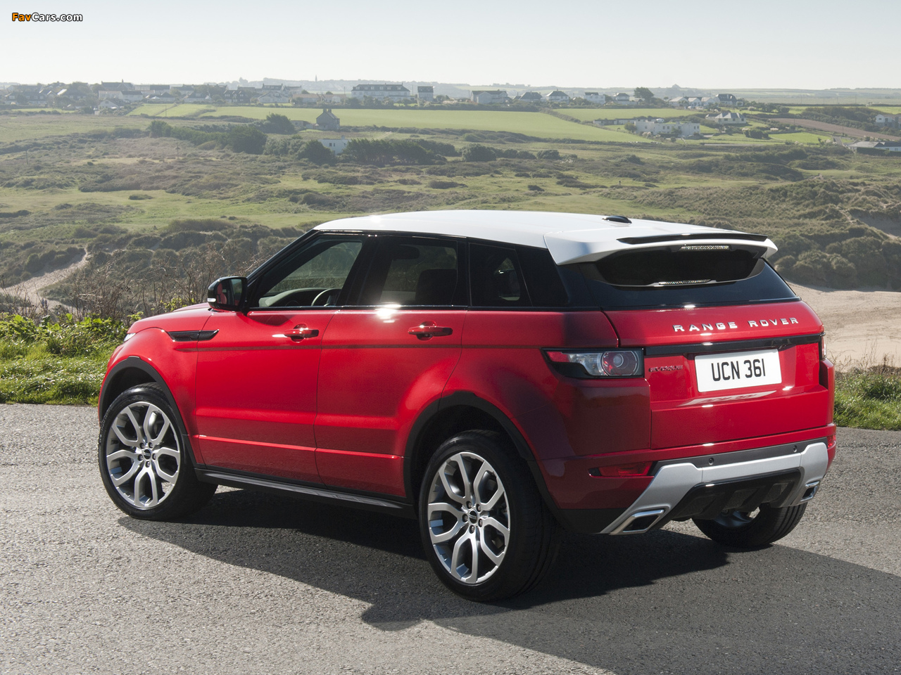 Range Rover Evoque Dynamic 2011 Images 1280x960