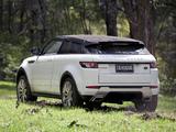 Range Rover Evoque Coupe Dynamic AU-spec 2011 images