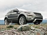 Range Rover Evoque Coupe Dynamic US-spec 2011 images