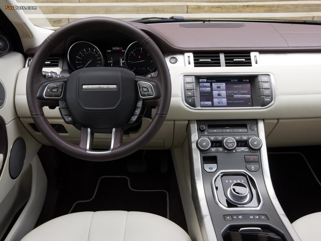 Range Rover Evoque Prestige 2011 images (1024 x 768)