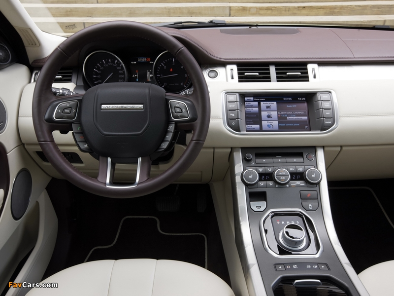 Range Rover Evoque Prestige 2011 images (800 x 600)