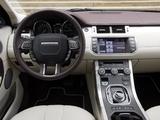 Range Rover Evoque Prestige 2011 images
