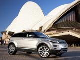 Range Rover Evoque Coupe Prestige AU-spec 2011 photos