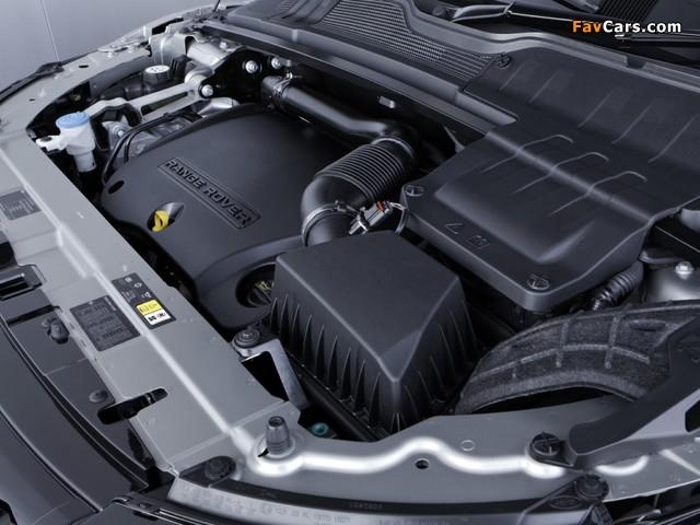 Range Rover Evoque SD4 Dynamic UK-spec 2011 photos (640 x 480)