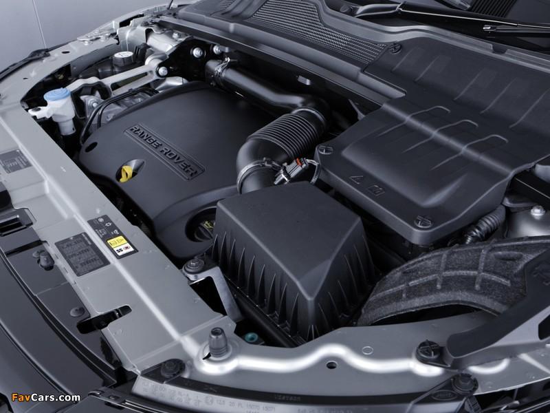 Range Rover Evoque SD4 Dynamic UK-spec 2011 photos (800 x 600)