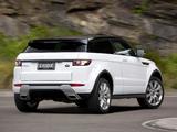 Range Rover Evoque Coupe Dynamic AU-spec 2011 photos