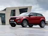 Range Rover Evoque Coupe Si4 Dynamic UK-spec 2011 photos