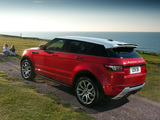 Range Rover Evoque Dynamic 2011 photos