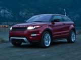 Range Rover Evoque Coupe Dynamic US-spec 2011 photos