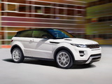 Range Rover Evoque Coupe Dynamic 2011 photos