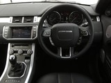 Range Rover Evoque SD4 Dynamic UK-spec 2011 pictures