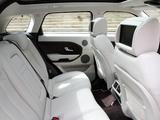 Range Rover Evoque Prestige 2011 pictures