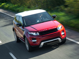 Range Rover Evoque Dynamic 2011 pictures