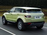 Range Rover Evoque SD4 Prestige 2011 pictures