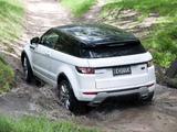 Range Rover Evoque Coupe Dynamic AU-spec 2011 pictures