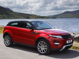 Range Rover Evoque Coupe Si4 Dynamic UK-spec 2011 pictures