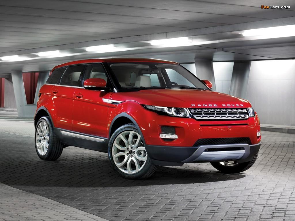 Range Rover Evoque Prestige 2011 wallpapers (1024 x 768)