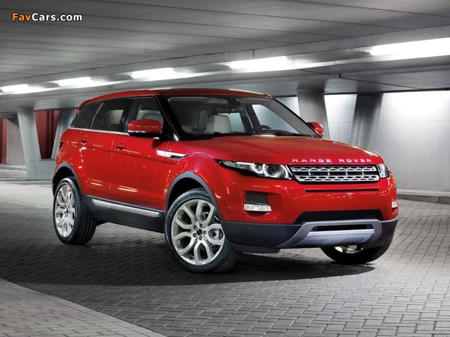 Range Rover Evoque Prestige 2011 wallpapers (640 x 480)