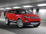 Range Rover Evoque Prestige 2011 wallpapers