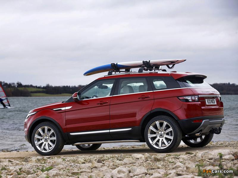 Range Rover Evoque Prestige 2011 wallpapers (800 x 600)
