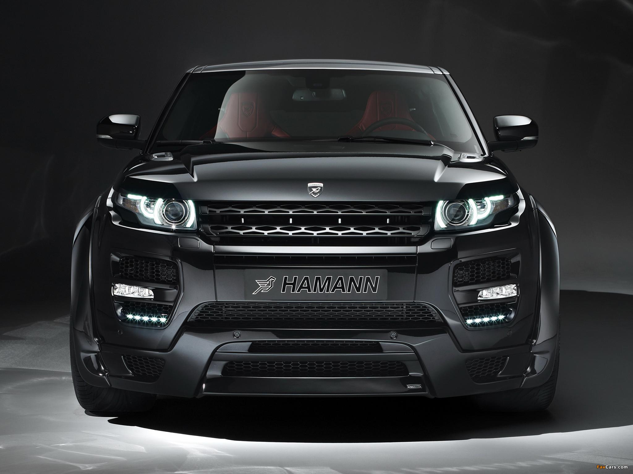 Hamann Range Rover Evoque Coupe 2012 images (2048 x 1536)
