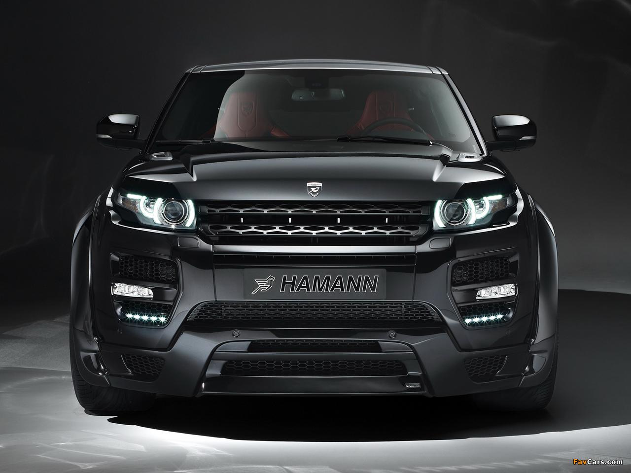 Hamann Range Rover Evoque Coupe 2012 images (1280 x 960)