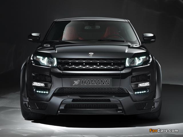 Hamann Range Rover Evoque Coupe 2012 images (640 x 480)