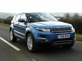 Range Rover Evoque eD4 Prestige UK-spec 2012 images