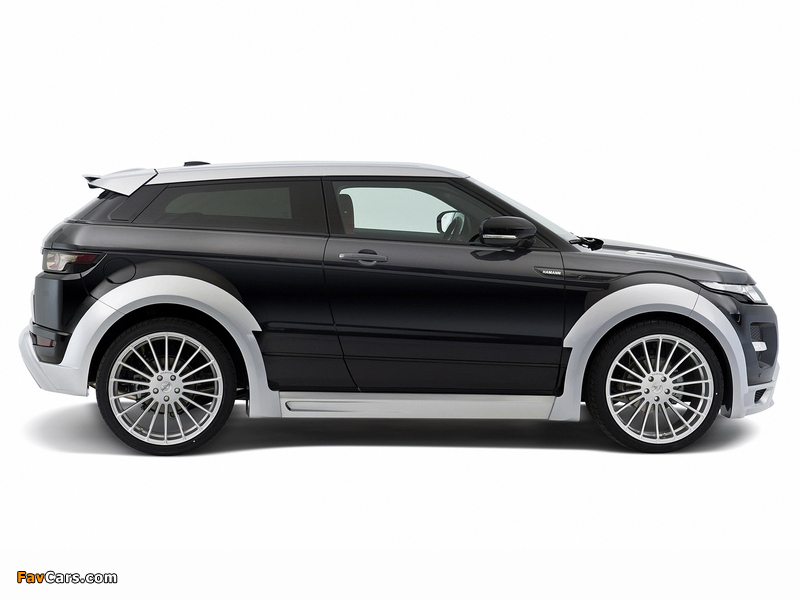 Hamann Range Rover Evoque Coupe 2012 photos (800 x 600)