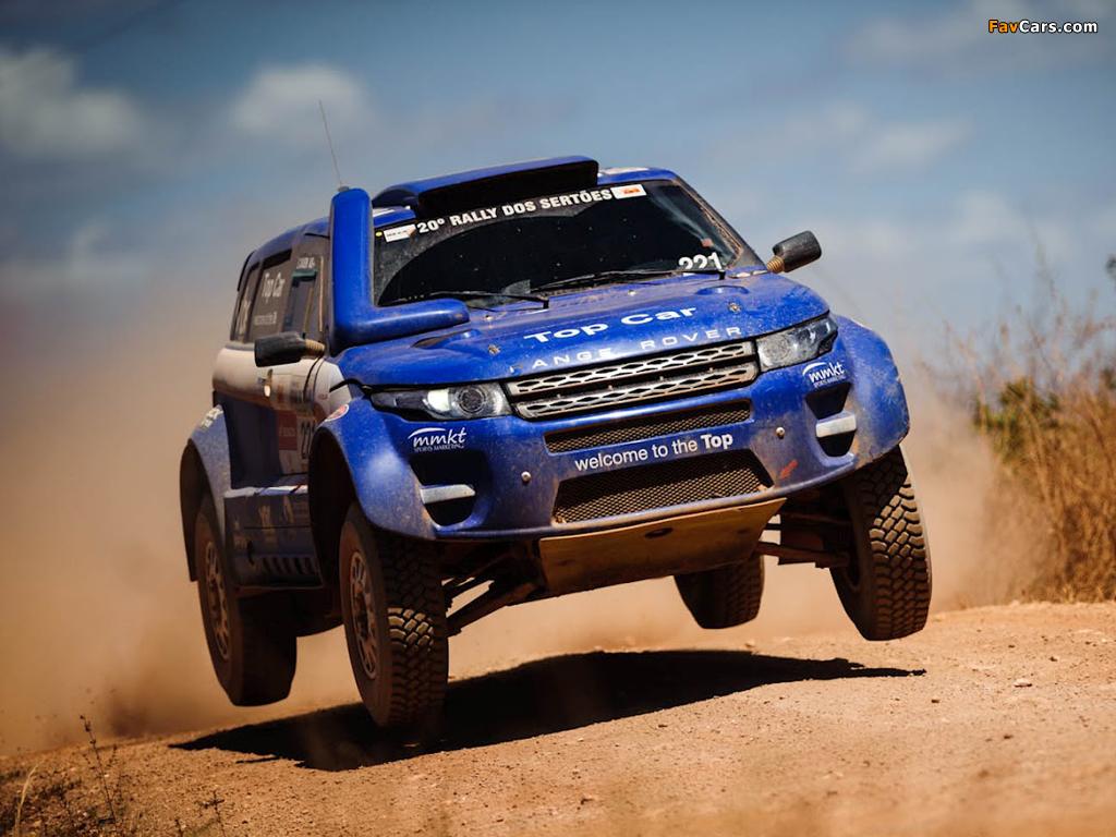Range Rover Evoque Rally Car 2012 photos (1024 x 768)