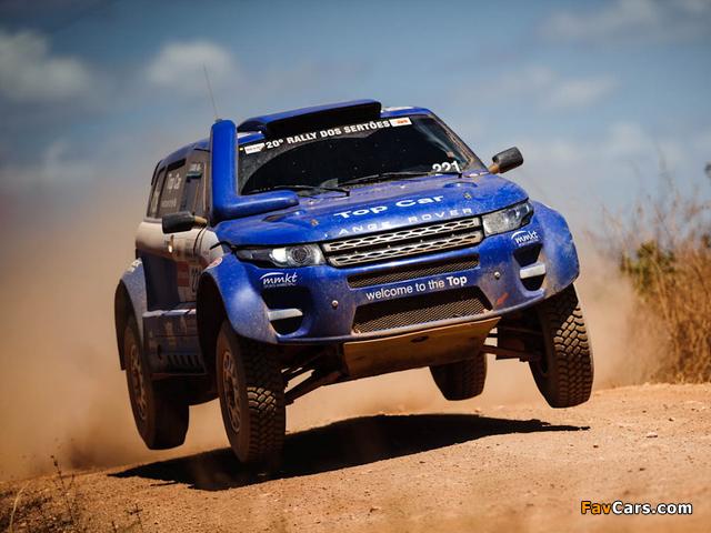 Range Rover Evoque Rally Car 2012 photos (640 x 480)