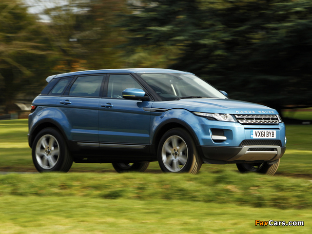 Range Rover Evoque eD4 Prestige UK-spec 2012 photos (640 x 480)