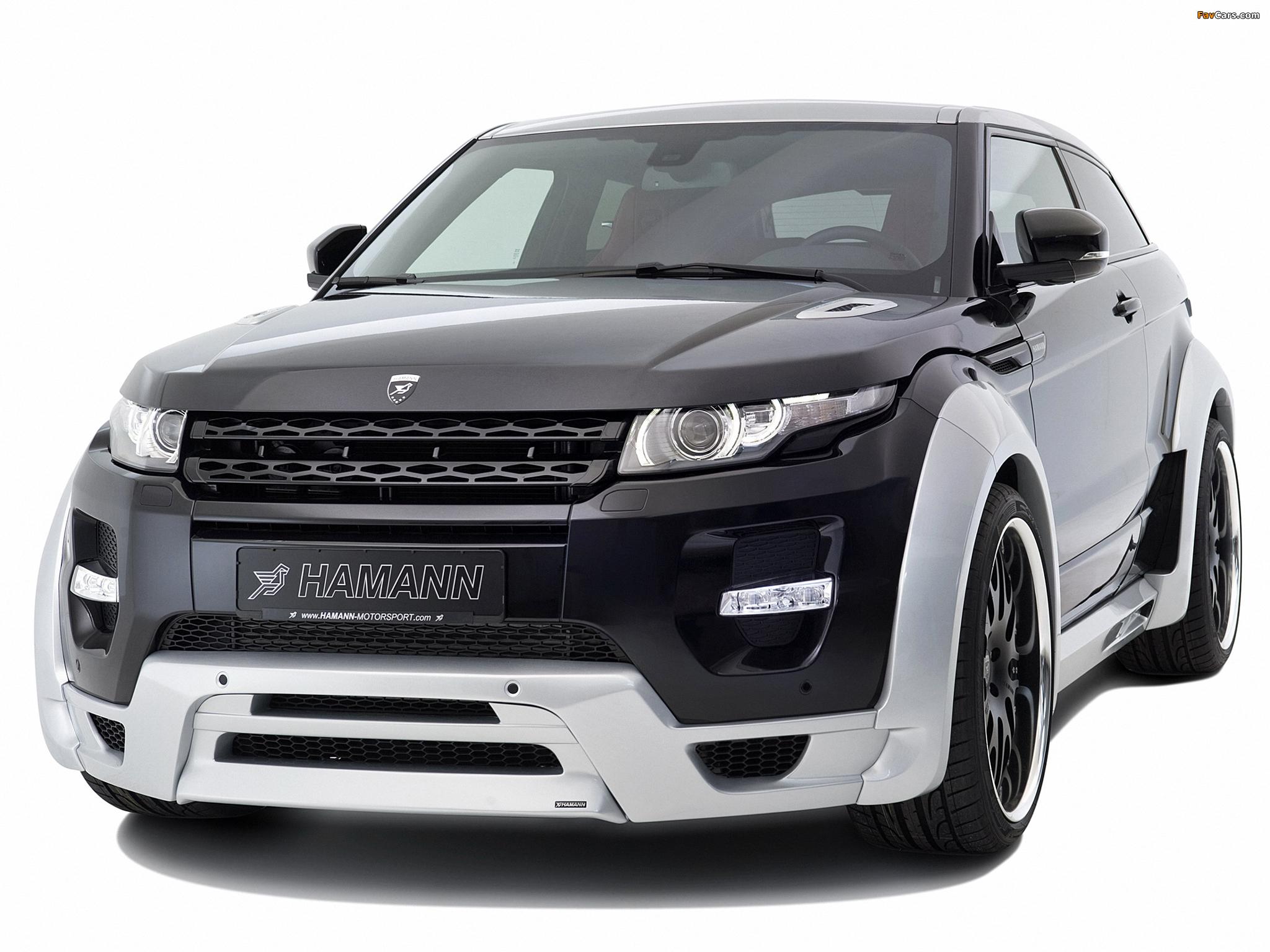 Hamann Range Rover Evoque Coupe 2012 pictures (2048 x 1536)