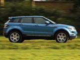 Range Rover Evoque eD4 Prestige UK-spec 2012 pictures