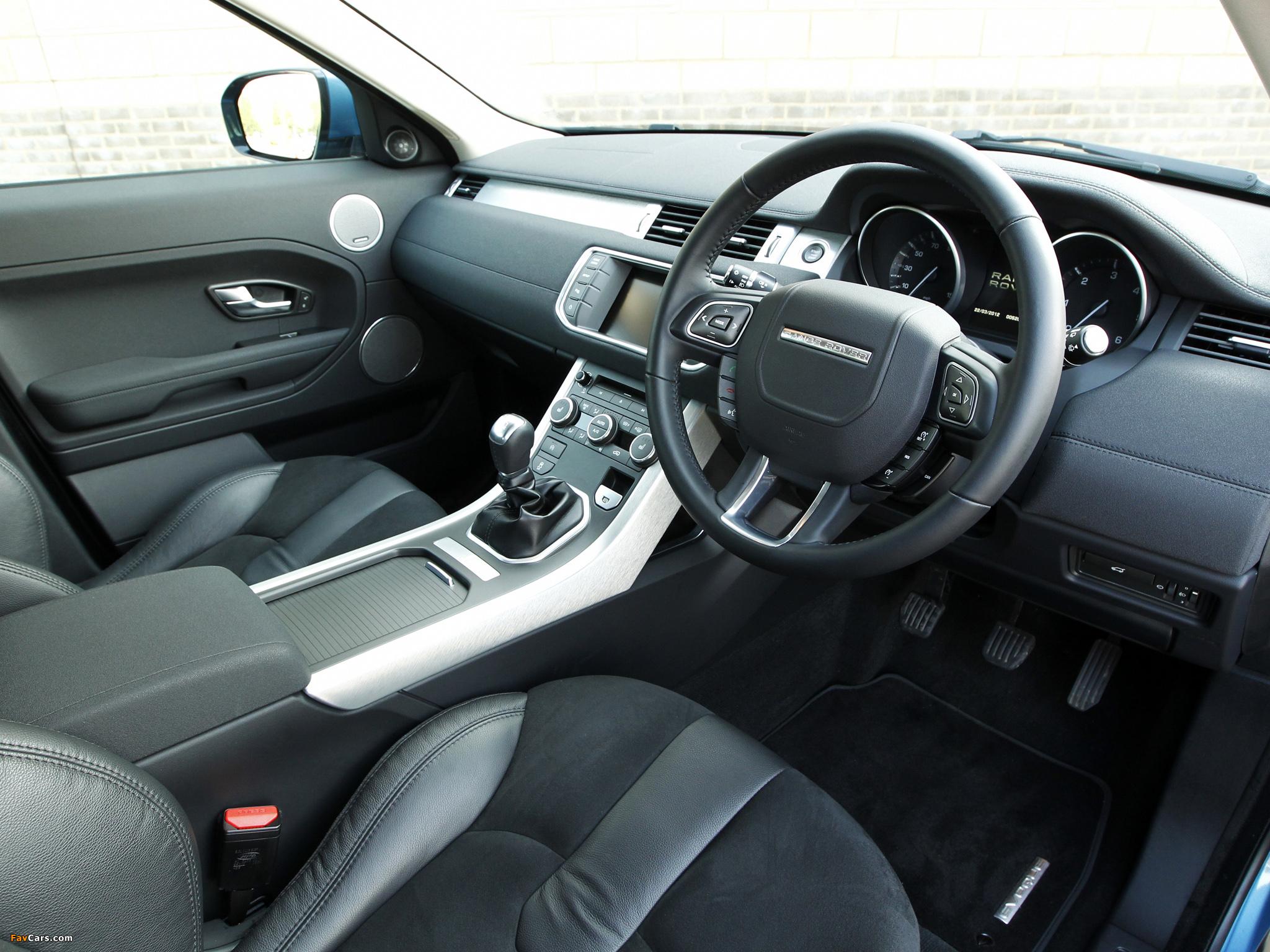 Range Rover Evoque eD4 Prestige UK-spec 2012 pictures (2048 x 1536)